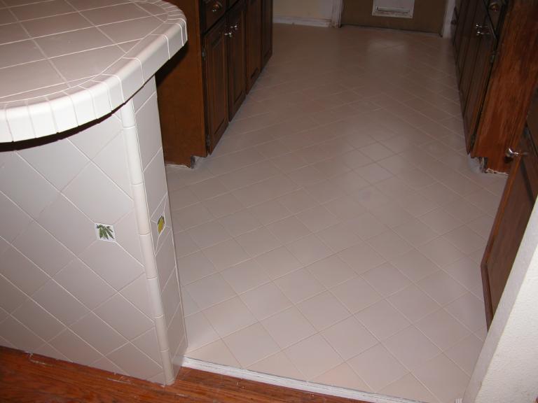 White Ceramic Kitchen Tiles